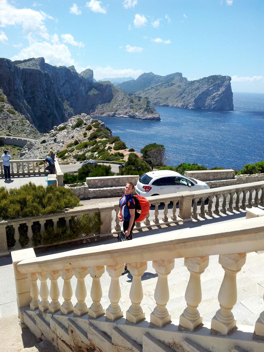 Ausblick vom Cap Formentor