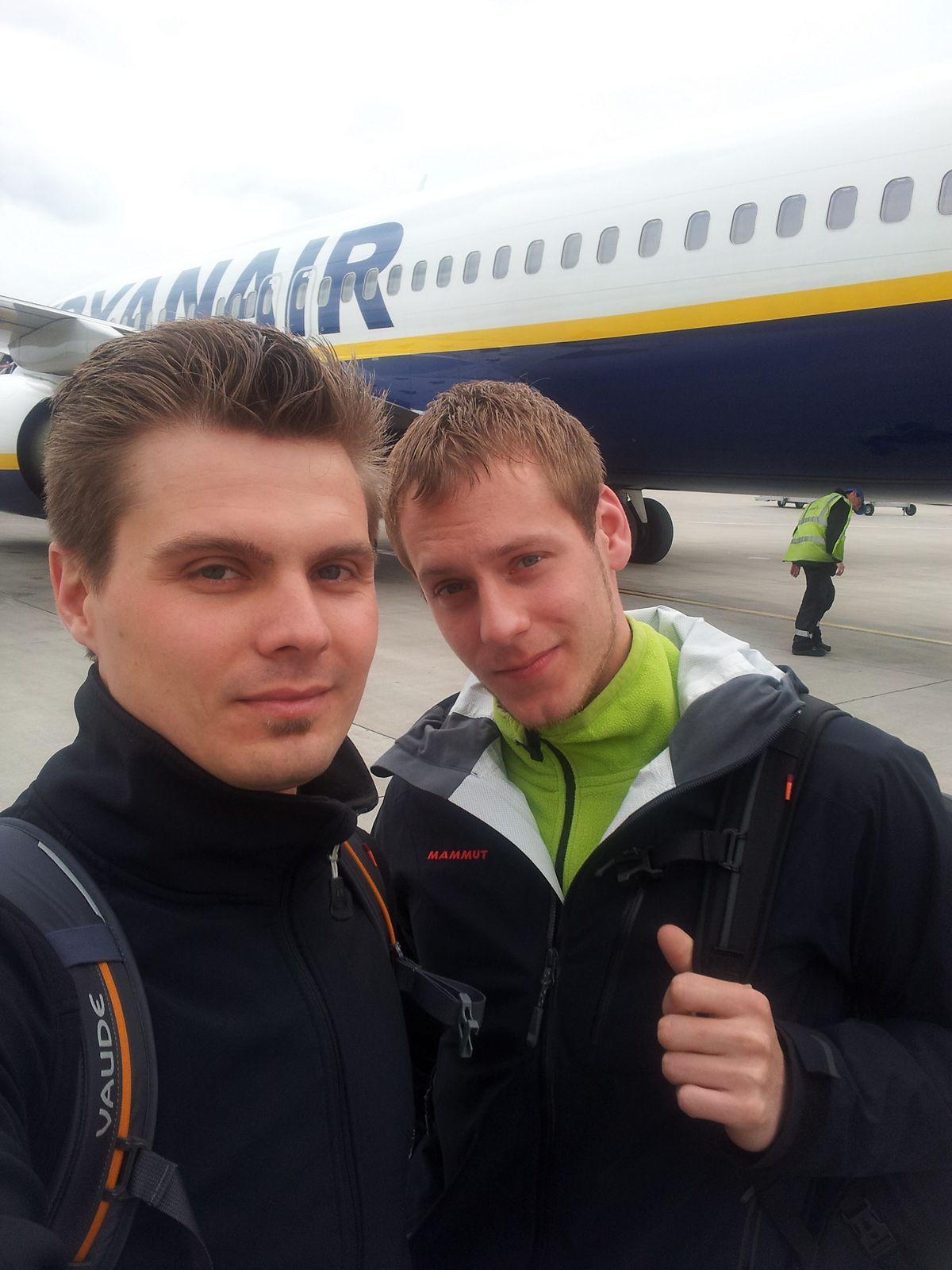 Der Flug nach Mallorca mit Ryanair