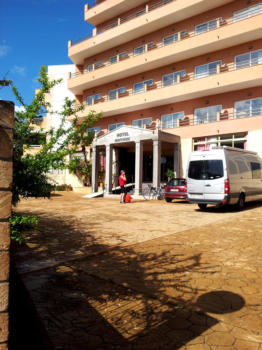 Hotel Monte Verda - Das -2 Sterne Hotel ist keine Emüfehlung wert