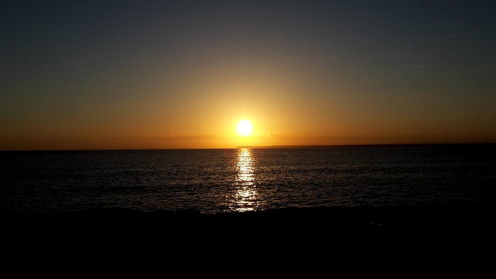 Sonnenuntergang Sant Jordi